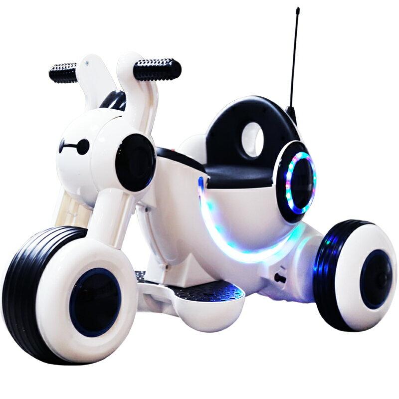 兒童電動車 三輪車可坐人寶寶童車電瓶玩具車 嬰兒兒童電動摩托車『XY360』