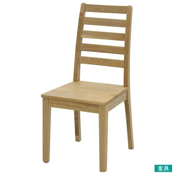 ◎實木餐椅VIKNANITORI宜得利家居