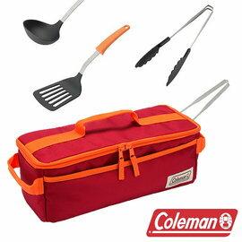 Coleman 料理工具組 II CM-26808 露營│戶外│鍋鏟│湯瓢│夾子│長筷│餐具