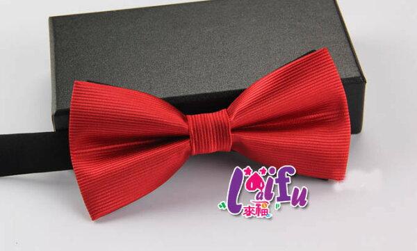 來福:來福領結,K80橫條紋結婚領結禮服糾糾新郎領結,售價99元