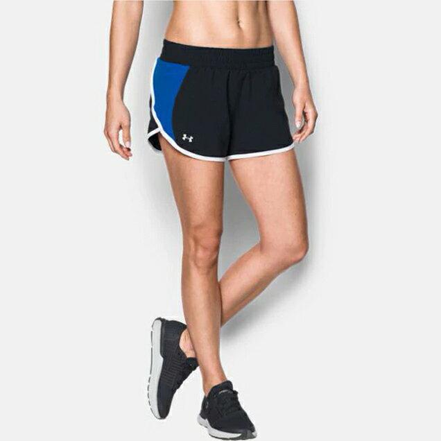 UNDER ARMOUR UA Endeavor 女裝 短褲 慢跑 訓練 排汗 透氣 口袋 黑【運動世界】1290875-004【APP限定   單筆滿799元結帳輸入序號『GT-MEN1906』再折70元】