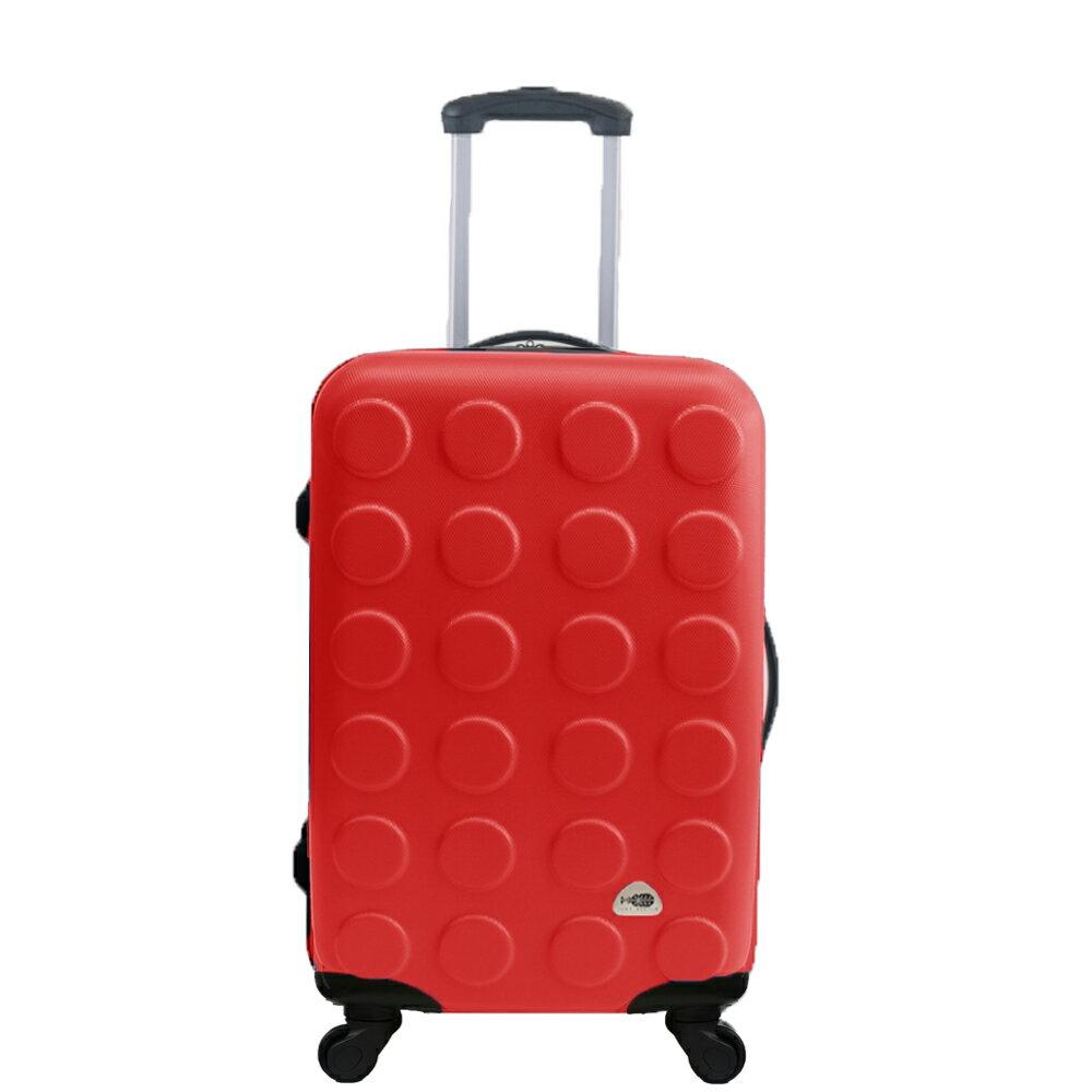 MJBOX超值輕硬殼ABS霧面24吋行李箱 旅行箱 10款任選限時5折 4