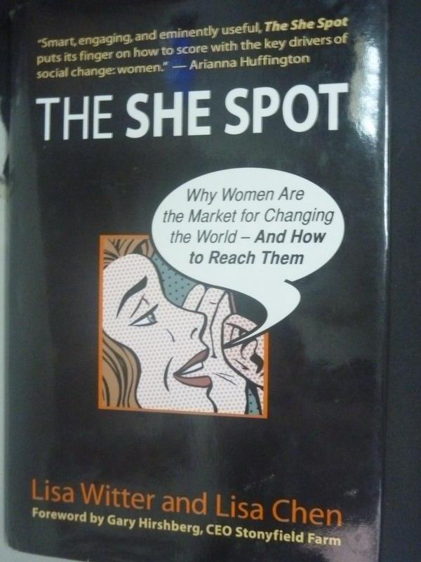 ~書寶 書T2/行銷_WGI~The She Spot_Lisa Witter Lisa