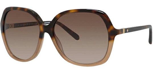 accaf579c98 Kate Spade Jonell Women s Two-Tone Butterfly Sunglasses Havana Nude 0S5B 0