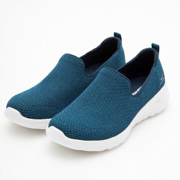 SKECHERSGOWALKJOY女鞋健走休閒懶人鞋機能舒適藍【運動世界】15609NVTL