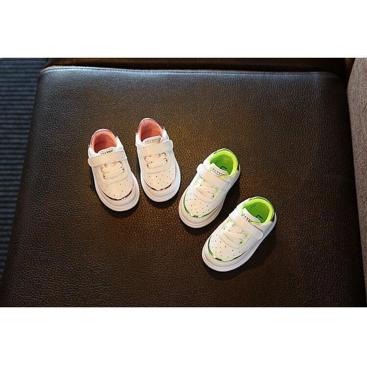預購7天發[NIKE風]AIR FORCE風格 兒童燙金軟底學步鞋 超好穿 內長11.3-15.8CM 透氣運動鞋 休閒鞋 跑步鞋