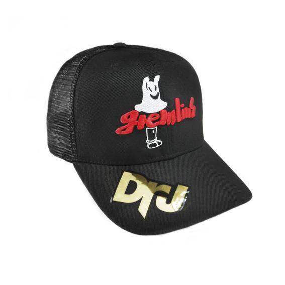 Jpick電繡gremlins網帽 黑色