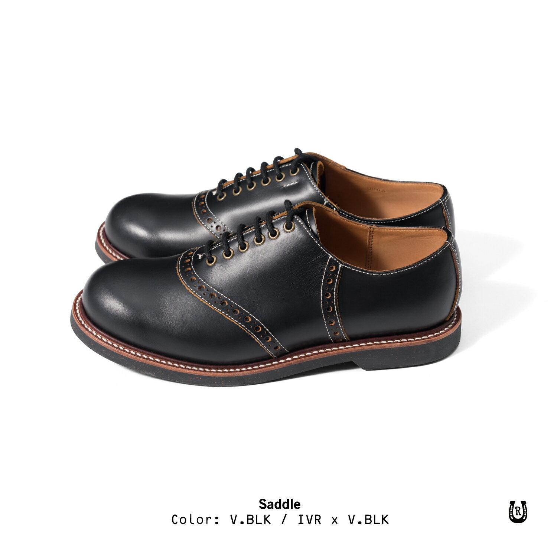 【預購八折】Retrodandy Saddle shoes 經典復古工作皮鞋 日廠Goodyear固特異手工製鞋法 2