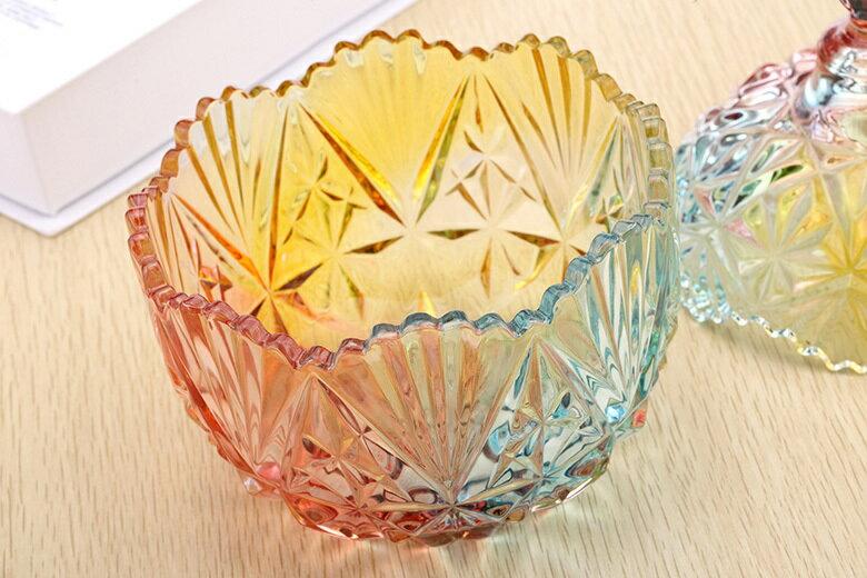 皇冠水晶玻璃罐(小-10.5X13cm) [大買家] 4