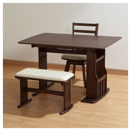 ◎可伸縮兩人餐桌椅組 ROA MBR NITORI宜得利家居 9