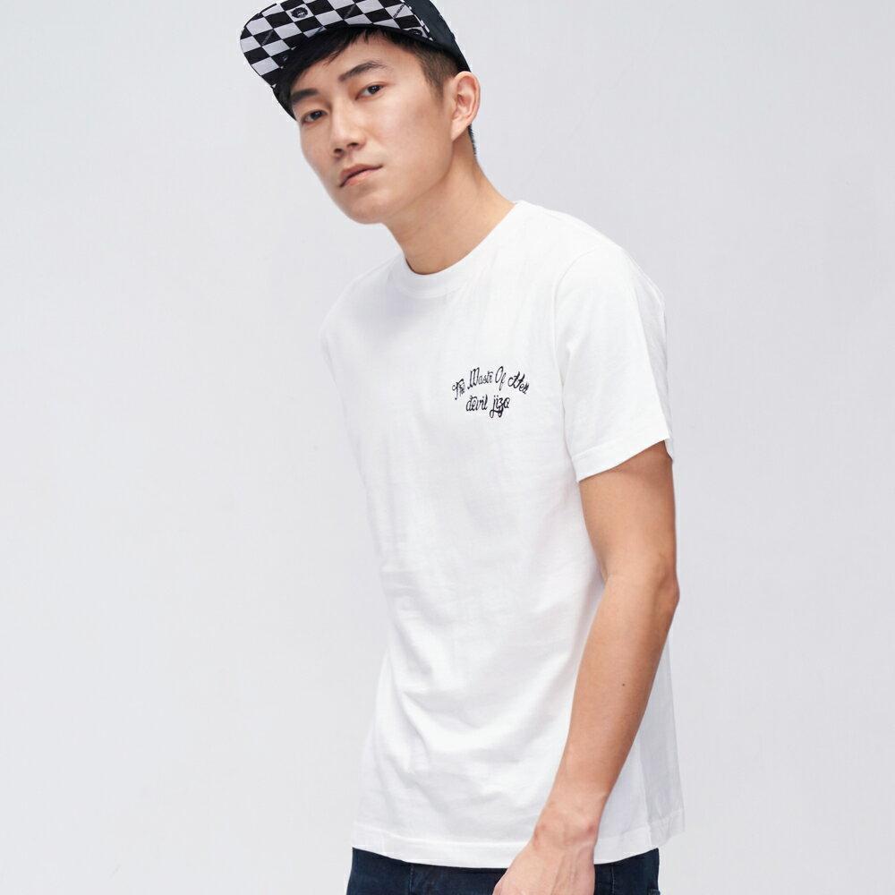 【OUTLET新品↘6折】街頭刺青風格短TEE(白)-  BLUE WAY  JIZO 地藏小王 1