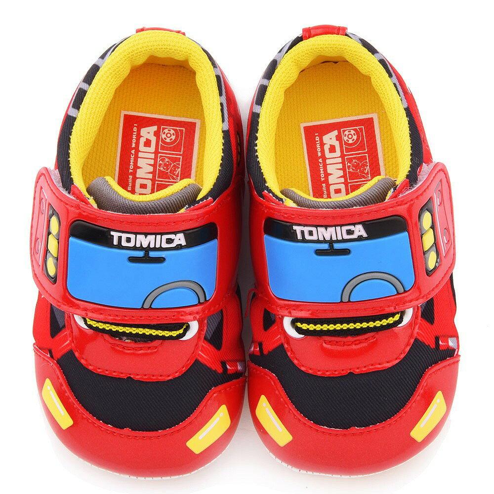 Tomica多美車 可愛帥氣寶寶鞋 小童 TM7781紅/黑(共二色)【童鞋城堡旗艦店】