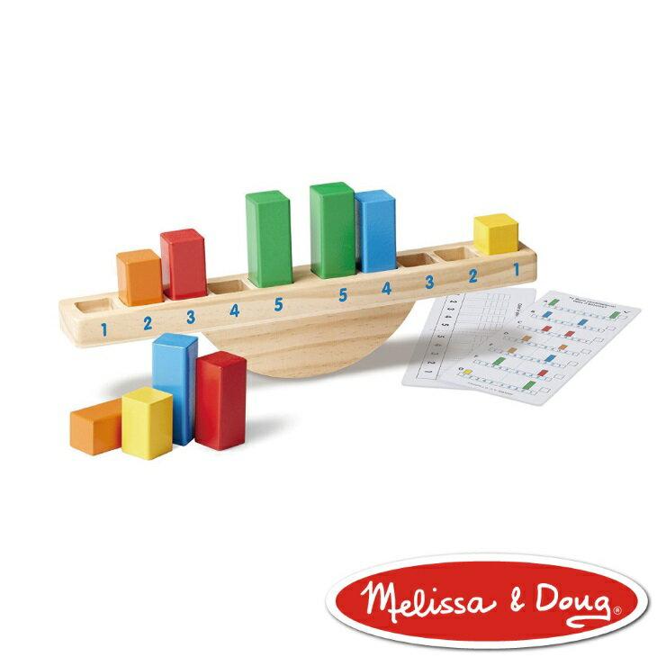 美國瑪莉莎 Melissa & Doug 益智遊戲 - 彩虹平衡積木 - 限時優惠好康折扣