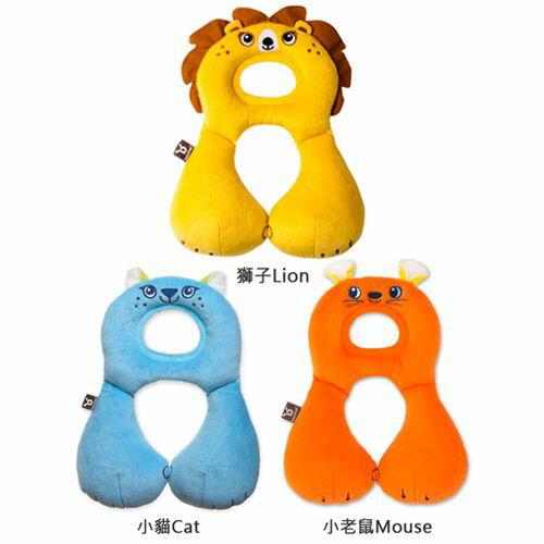 ★衛立兒生活館★Benbat 寶寶旅遊頸枕 1-4歲(小貓/老鼠/獅子)