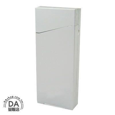 《DA量販店》超輕 隨身攜帶用 鋁製 彈簧蓋開關 香煙盒 可放置打火機 (37-386)