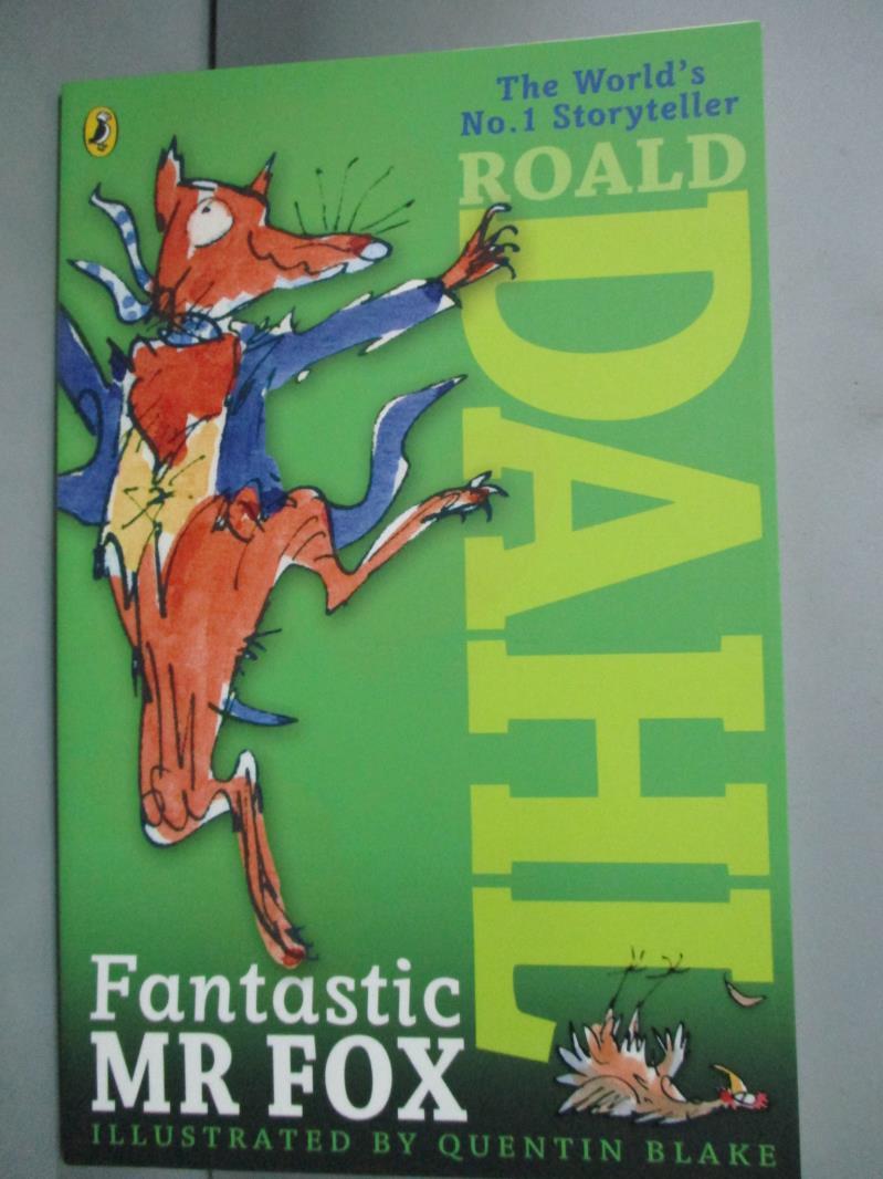 ~書寶 書T2/原文小說_LMS~Fantastic Mr Fox_Roald Dahl