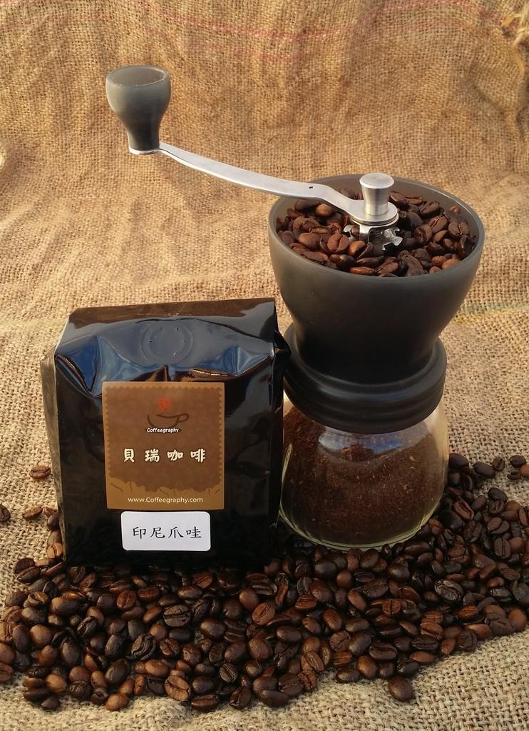 (貝瑞咖啡) 印尼爪哇 - 咖啡豆 (半磅) (本商品不含磨豆器)