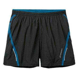 ├登山樂┤美國BROOKS 男款-極速乾二件式慢跑短褲 #BK210278004