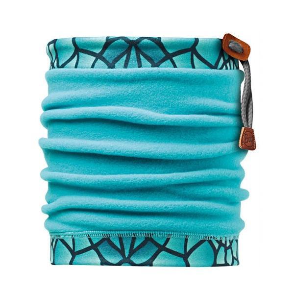 ├登山樂┤BUFF 抽繩POLAR保暖頭巾 青玉方塊 #BF107918