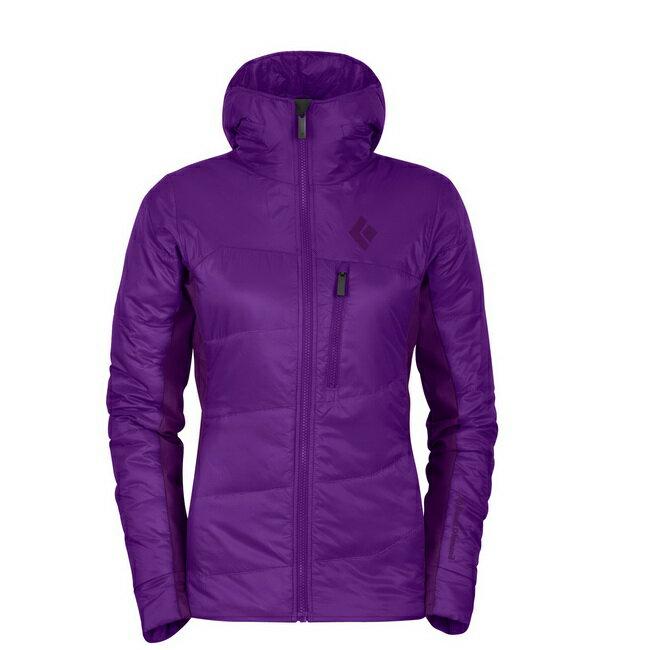 ├登山樂┤美國 Black Diamond 女- Access Hybrid 連帽軟殼外套 灰、紫兩色可選#COV6