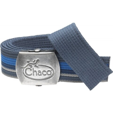 ~登山樂~美國 Chaco ReversiBelt 圖騰腰帶 藍光芒 # HA51