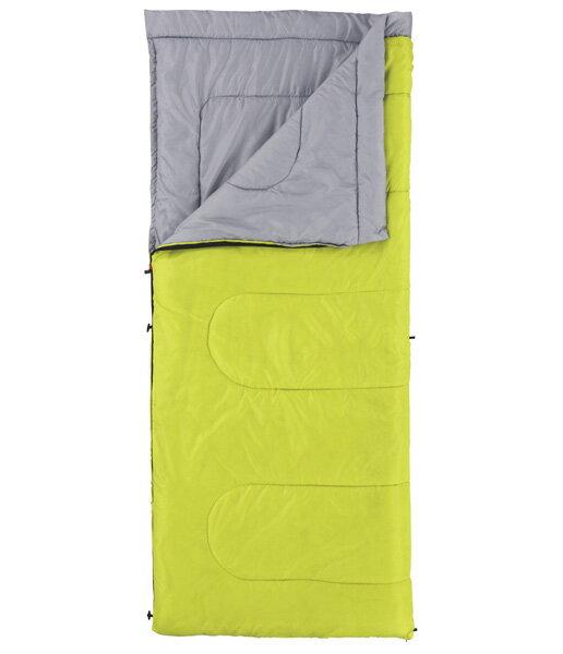├登山樂┤美國 Coleman 表演者睡袋/15 萊姆綠 耐寒度5度 化纖 信封型睡袋 # CM-6930J