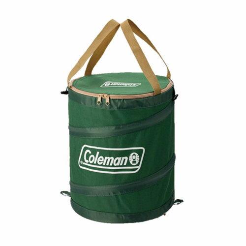 ├登山樂┤美國 Coleman 萬用魔術桶 綠 戶外垃圾桶 萬用籃 收納籃 #CM-6907J
