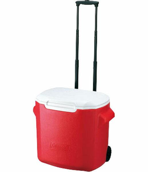 ├登山樂┤美國 Coleman 26.5L 拖輪置物型冰桶#CM-0026紅0028粉紅0029藍色0491綠色