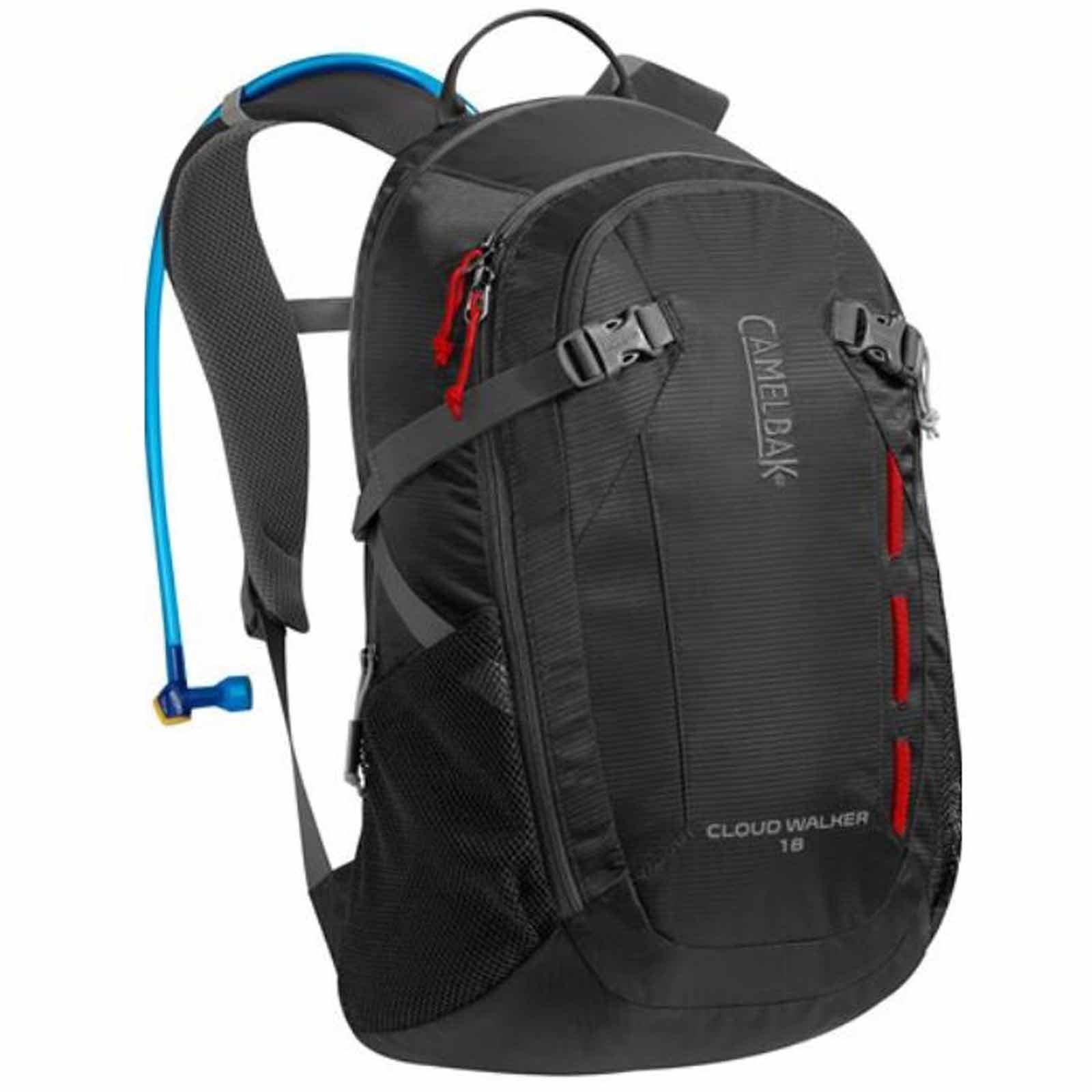 ├登山樂┤美國 Camelbak Cloud Walker 18 登山健行背包(附2L水袋)炭灰、威尼斯紅 # CB62180、CB62182