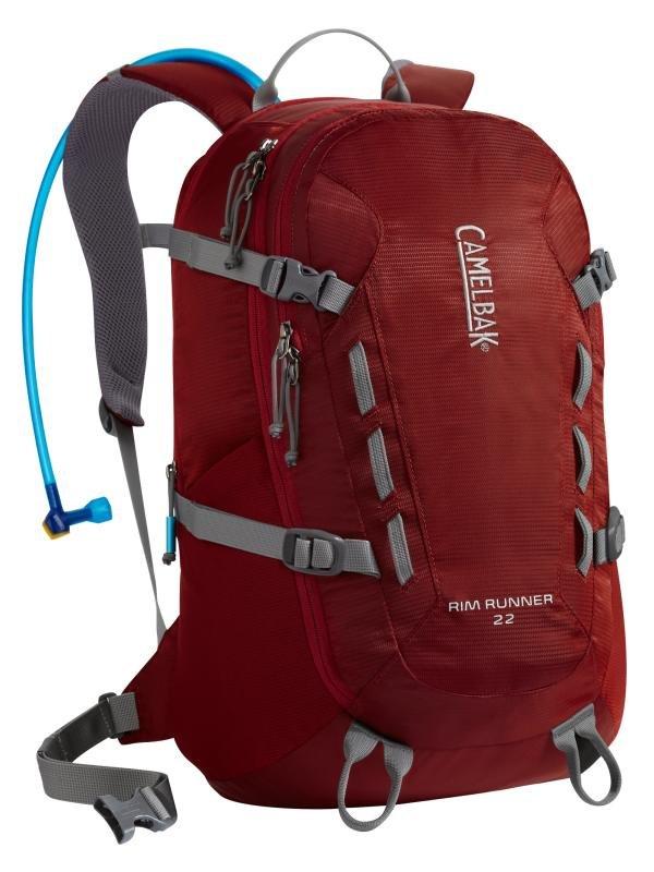 ├登山樂┤美國 Camelbak Rim Runner 22 登山健行背包(附3L水袋)威尼斯紅、褐色 # CB62235、CB62233