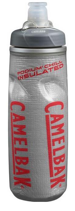 ├登山樂┤美國 Camelbak PODIUM 保冷噴射水瓶-灰紅、水藍、檸檬  620ml  #CB52311、CB52313、CB52314