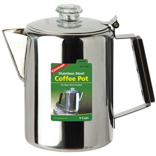 ~登山樂~加拿大 COGHLAN #x27 S 不鏽鋼咖啡壺 #1340