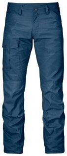 ├登山樂┤瑞典FjallravenNilsG1000工作褲休閒褲(大叔藍)#81752-520