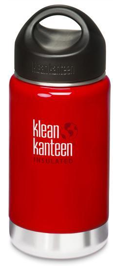├登山樂┤ 美國 Klean Kanteen 寬口保溫鋼瓶 12oz / 355ml # K12VWSSL Sangria Red/桑格紅