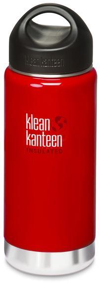├登山樂┤ 美國 Klean Kanteen 寬口保溫鋼瓶 16oz / 473ml # K16VWSSL Sangria Red/桑格紅