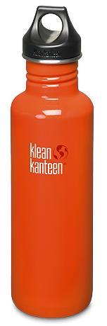 ├登山樂┤ 美國 Klean Kanteen 彩色不鏽鋼瓶 27oz / 800ml # K27PPL  Flame Orange/火焰橘