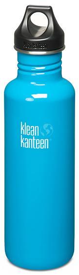 ├登山樂┤ 美國 Klean Kanteen 彩色不鏽鋼瓶 27oz / 800ml # K27PPL  Channel Island/島嶼藍