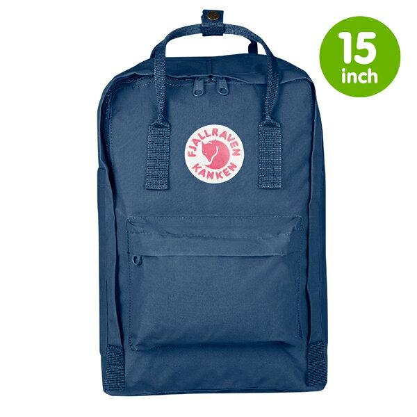 ├登山樂┤瑞典Fjallraven Kanken 15吋 電腦雙肩背包 # 27172 (540 Royal Blue/皇家藍)