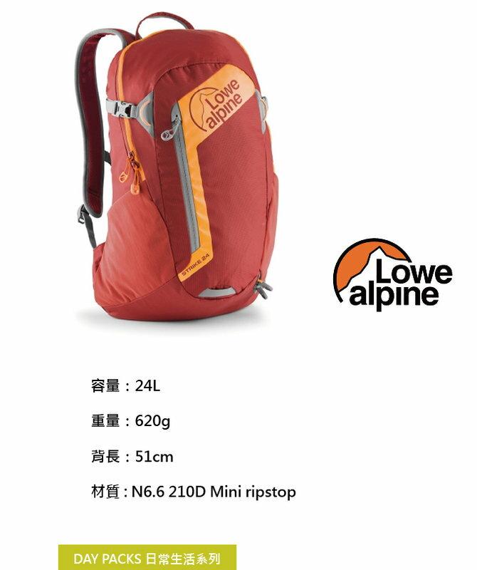 ├登山樂┤美國 Lowe alpine DayPacks Strike 多功能背包 24L墨西哥紅 # FDP2524T