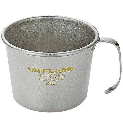 ├登山樂┤日本 UNIFLAME 260ml 鈦杯 # U668511