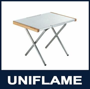 ├登山樂┤日本UNIFLAME 疊不鏽鋼小鋼桌 燒烤小邊桌 可置荷蘭鍋 料理台 #U682104