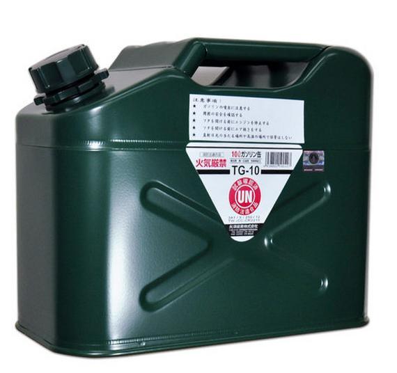 ├登山樂┤日本 YAZAWA 軍規級儲油桶10L # TG-10 (新型號CGT-10)