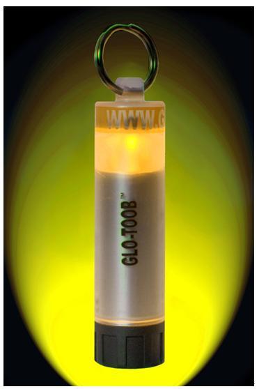 ├登山樂┤美國 GLO-TOOB 登山 求救光源 手電筒 專業戶外信號燈(橙) # GT-AAA