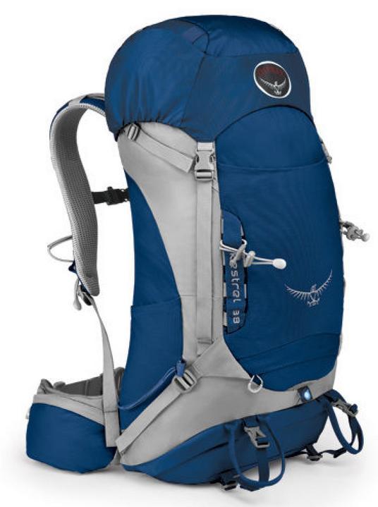 ├登山樂┤ 美國 Osprey Kestrel 38 背包S/M #Tarn Blue