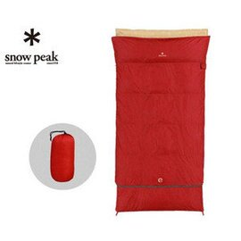├登山樂┤日本Snow Peak 方形露營睡袋-羽絨加寬700 # BDD-103