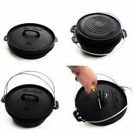 ├登山樂┤MAGIC 12寸特級三件套荷蘭鍋 # RV-IRON555