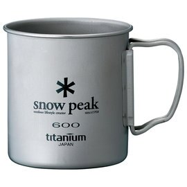 ├登山樂┤日本Snow Peak 鈦金屬單層杯折疊把手 600ml # MG-044R