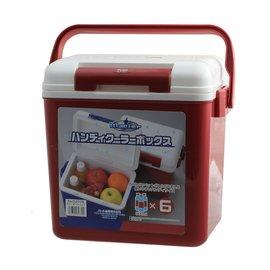 ├登山樂┤日本PEARL LIFE 珍珠生活 冰河保冷冰箱8L # D-2779( 紅)