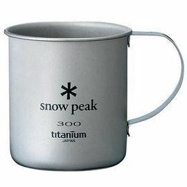 ├登山樂┤日本Snow Peak 層斷熱鈦合金 隨身杯 300ml # MG-042