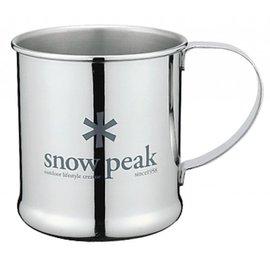 ├登山樂┤日本Snow Peak 不鏽鋼單層杯 - 300ml # E-010